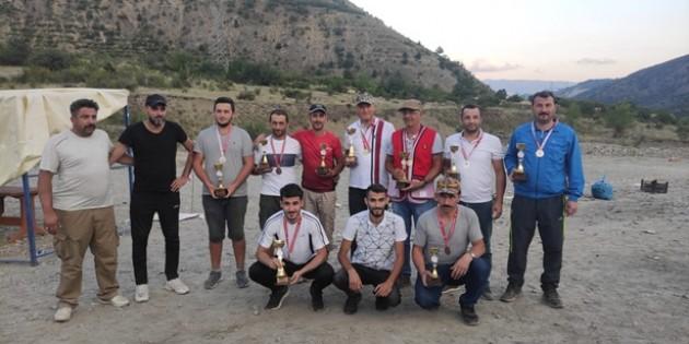 Tosya'da Bölgesel Trap ve Tek Kurşun Atış Yarışması Düzenlendi