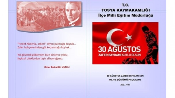30 Ağustos Zafer Bayramı Törenle Kutlanacak