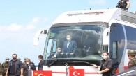 Cumhurbaşkanı Erdoğan, sel bölgesinde