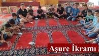Din Görevlileri Derneğinden Kuran Kursu öğrencilerine Aşure ikramı