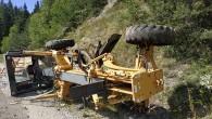 Kastamonu Yolunda İş Makinesi Kazası