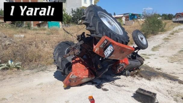 Metal Sanayide Traktör Kazası, 1 Yaralı