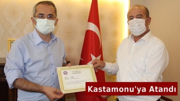 PTT Müdürü Vedat Sert Kastamonu'ya Atandı