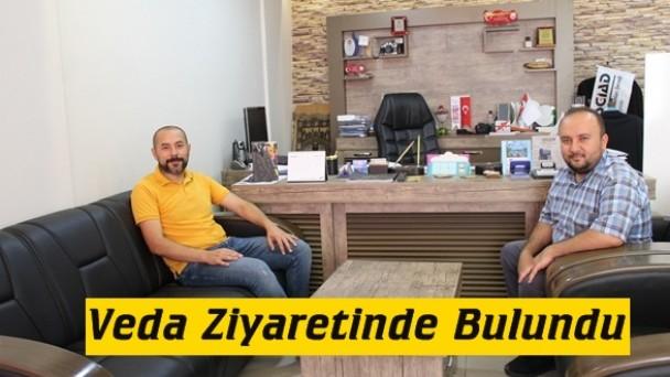 Tosya SGK Müdüründen Gazetemize Veda Ziyareti