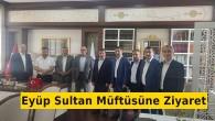 Din Görevlileri Derneğinden Eyüp Sultan Müftüsüne Hayırlı Olsun Ziyareti