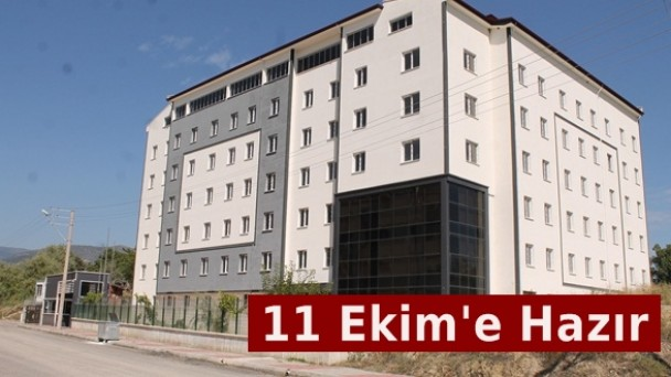 KYK Tosya Kız Öğrenci Yurdu 11 Ekime Hazır