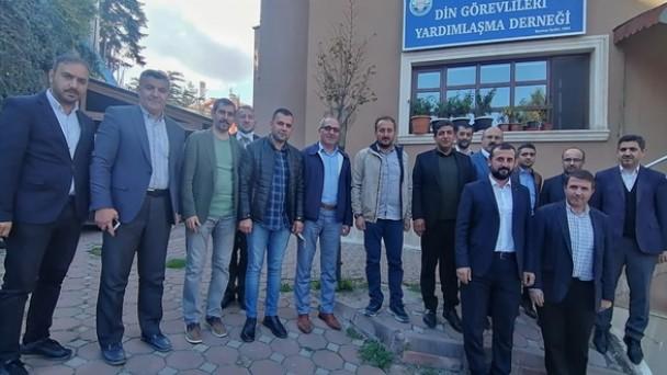 Ak Parti'den Din Görevlileri Derneğine Ziyaret