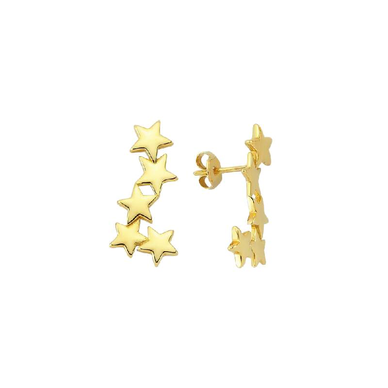 Altın Yıldız Küpe