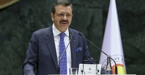 TOBB Başkanı Hisarcıklıoğlu Tosya'da