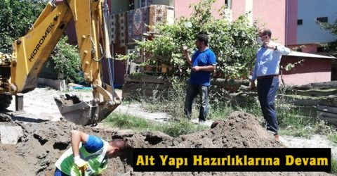 Tosya Belediyesi Alt Yapı Hazırlıklarına Aralıksız Devam Ediyor